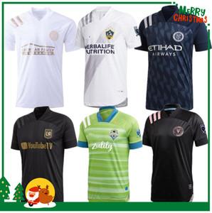 قمصان مدينة MLS 2020 لوس انجليس لكرة القدم جيرسي 2021 نيويورك سينسيناتي LAFC كارلوس فيلا FC بين ميامي بيكهام لوس انجليس جالاكسي الامريكي لكرة القدم