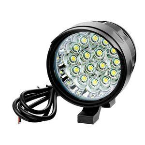 AIMIHUO Headlights on a motorcycle bicycle 16x CREE XM-L2 headlamp LED Boat Driving Headlight Fog Light Lamp Spot led
