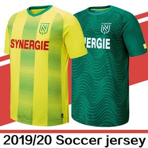 2019 Nueva FC Nantes fútbol ausente del hogar jerseys ¡La mejor calidad 19 20 Nantes Sala Coulibaly Waris Rongier Boschilia mens camiseta de fútbol