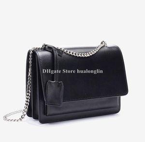 Ledertasche Frau original box hochwertige Schulter Crossbody Messenger Bags