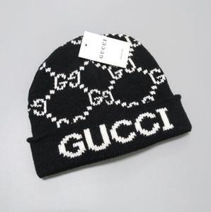 Erkek Beanie Kış Yün Şapka Yeni Moda Bayan Örgü Kalınlaşmak Sıcak Polo Beanie Bonnet Cap 2446