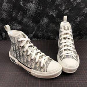 Dior Última flor técnica lienzo juststor zapatos de alta calidad moda l señoras mujeres low-top lona zapatos casuales sandalias