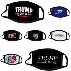 Унисекс Дизайнер Trump Face Mask Luxury Камуфляж Маска Sunproof пыл Велоспорт Спорт Mouth эр дышащие Маски моющийся эр # 533