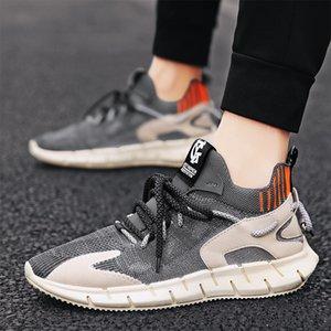 Calze a rete mesh traspirante volanti tessuta scarpe da cocco estate 2020 nuovo modo comodo sport scarpe da uomo casual