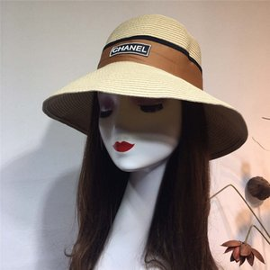 New straw hat, fine grass woven, light and breathable folding, beach hat, tourism hat, ladies go with everything