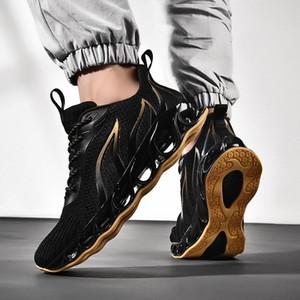 Bıçak Erkekler Yeni Hafif Nefes Mesh Tasarımcı Sneakers Man Koşu Yürüyüş Atletizm Antrenörü Spor Ayakkabılar Ayakkabı Koşu
