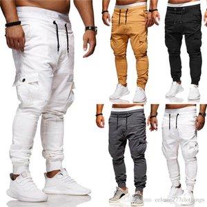 fashion casual pants mens designer pants plus size fit fashion Multi-pocket Sports Joggers cotton Gym Sweatpants Summer men clothings