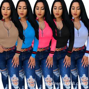 womens 디자이너 스웨터 겨울 티셔츠 긴 소매 패널 스웨터 스웨터 패션 스웨터 셔츠 klw0208
