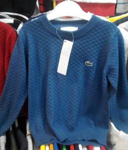 2020 Tag otoño muchachas de los bebés del suéter de los niños Marca de punto suéteres para Pullover Niños Boys suéter Tops