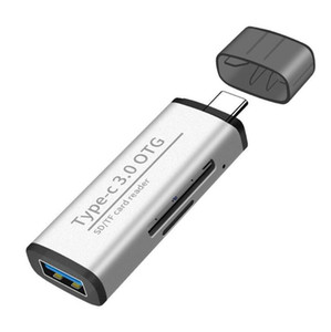 USB 3.0 Multi-function Type-c otg Card Reader sd tf Card Computer Android Mobile Phone Multi-functional Card Reader USB3.0 Hub