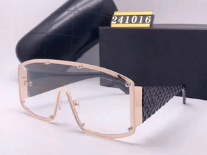 fashion Luxury evidence sunglasses retro vintage men designer shiny gold frame laser logo women top quality with package 2020 NEW CC241016