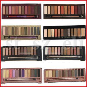 Viso trucco Ombretto nudo 12 colori gamma di colori dell'ombretto 15.6g 1 4 5 7 8 calore ciliegia occhio gamma di colori dell'ombra