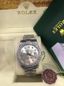 원래 상자 명품 시계 최고 품질 BRAND NEW II 다이아몬드 베젤 MOP 다이얼 S로 / 116300 자동 남성 시계 남성 시계를 S