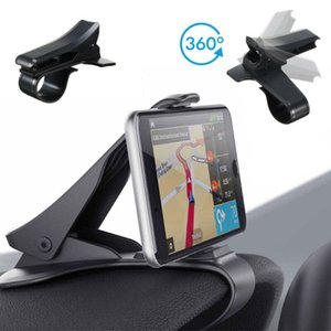 Новый стиль автомобилей держатель телефона Универсальный 360 ° Автомобильный Ветровое стекло приборной панели держатель крепление для GPS PDA Мобильный телефон Stand