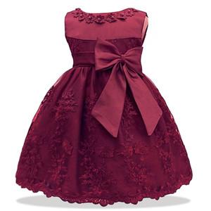 Lzh Mädchen Für Mädchen 1 Jahr Geburtstag Kinder Baby Prinzessin Taufkleid Infant Party Kleid Neugeborene Kleidung J190619