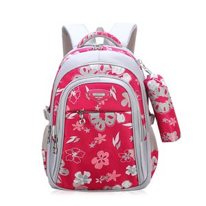 New Children Schoolbags for Girls Primary School Book Bag Sac Enfant Children School Bags Printing Backpack Orthopedic Backpack S200107