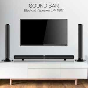 50W rimovibile senza fili bluetooth stereo bar barra audio Bass Speaker 3D HiFi audio Bass Subwoofer Home Theatre per la TV PC