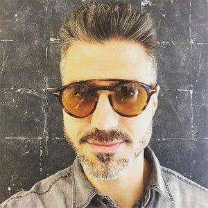 All'ingrosso-Nuovo HUITUO colorato vacanze occhiali da sole Viaggi occhiali di alta qualità rétro Occhiali da sole uomo