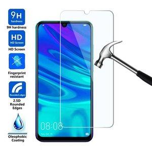 500pcs del teléfono móvil de vidrio templado para el Huawei Disfrute 7S 7C 8 9 8E 9S 10 10S 7 Plus protector de la pantalla de DHL