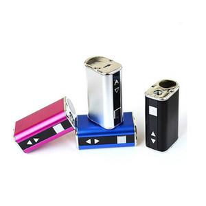 Alta qualità E-sigaretta Mini 10W Batteria Mod Kit 30 Watt batteria con schermo LED tensione regolabile Semplice Imballaggio