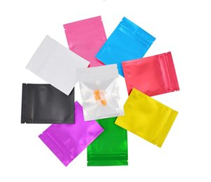 Matte Smell Proof Mylar Bags Customized Printed Bag Mylar Aluminum Foil bags Pouch Food Storage Moisture Proof Keep Aroma Bags