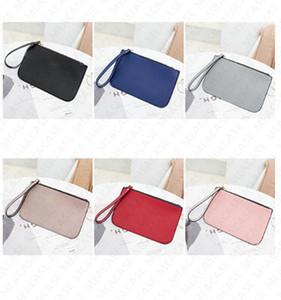 Brand KS Women PU Leather Wallet Designer Mini Wristlet Zipper Purse Clutch Bag Outdoor Credit Card Money Bags Coin Purse Handbag D7212