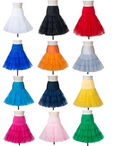 Vintage PetticoatUnderskirt Sexy Rock für Frauen Rockabilly Tutu Rock and Ballet Röcke
