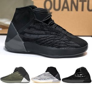 2020 nuovi pattini Kanye Quantum Mens Basketball QNTM BSKTBL Triple Nero bario Scarpe Uomo Scarpe da ginnastica riflettenti sport Chaussures