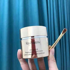 New Ultra Facial Cream el RE-NUTRIV Ultimate Lift Regenerating Youth Creme Moisturizing Face Cream 50ml free shipping
