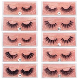 MAYSHIKOU 3D False Eyelashes Soft And Natural Fake Eyelash Synthetic Hair Lashes-Extension Faux Mink hair Thick Style
