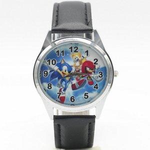 Ücretsiz Kargo yeni moda Sonic Saatler Çocuk Çocuk Boys hediye İzle Casual Kuvars Kol