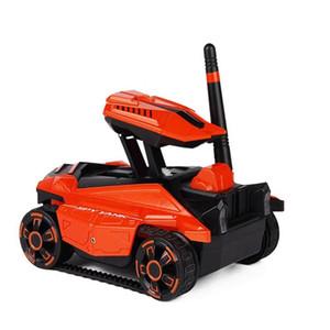 Réservoir WIFI RC avec caméra HD téléphone télécommandé Réservoir RC Toy Robot Contrôlé Tank Toy pour enfants