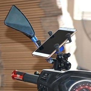 Motosiklet Telefon Standı Tutucu USB Soket Power Outlet Şarj Aşırı Gerilim Koruma kaymaz Ayak araba Tipi Evrensel CarFree Nakliye