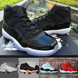 Nike air jordan 11 basketball kids running shoes 2020 Nouveau Basket-Ball Chaussures Gym Rouge Bébé Gamma Bleu Concord 11 Sneakers garçons filles TN Sneakers Espace