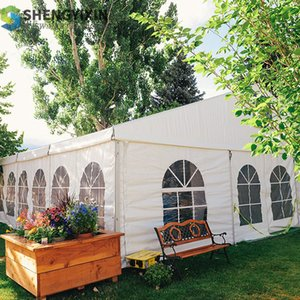 Combined transparent tents outdoor tent with aluminum frame high quality aluminum good price frame outdoor white tent for 200 people