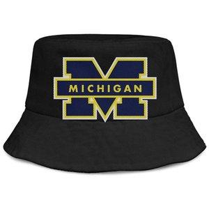 Michigan WoLverines мужчины пользовательские и логотип для женщин сетки Buckethat футбольное ведро милое baseballcap logo wlhqg