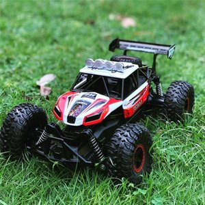 Flytec 6029 1 16 2.4G Remote Control RWD RC Racing Car High Speed Electric Off-Road Vehicle RTR Model For Children Toys Y200414