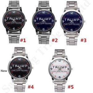 Quartz Wristwatch Trump 2020 Wrist Watches Alloy Stainless Strap Watch band Luxury Designer Retro Unisex Watches Party Favor MMA2764