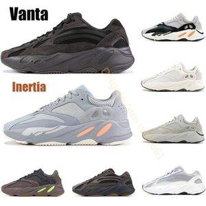 700 Runner 2020 New Kanye West des femmes des hommes vague mauve occasionnels de haute qualité 700S Sport Chaussures de course Chaussures de sport US 5 à 11,5