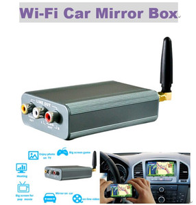Hot For ios12 Car Mirror Link WIFI Car Mirror Box for Android iOS Phone Audio Miracast DLNA Airplay Wi-Fi Smart Screen Mirroring