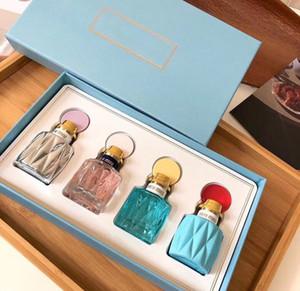 4pcs 20ml set women perfume EDT parfumes lady makeup lasting health fragrance deodorant Beauty spray Incense 20ml*4pcs new boxes
