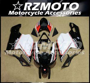 Injection Mold New ABS Fairings Fit For Ducati 848 1098 1198 1098s 1098R EVO 2007 2008 2009 2010 2011 2012 Bodywork set Custom White Black