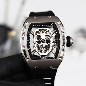 watches RAFAEL NADAL, RM052 Movement watches series, hollowed-out design, wine cask case, visual movement,