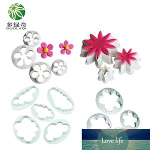 Different Flowers Cloud Cookies Cutter Cake Decoration Tools Pastry Tools Kitchen Gadget for Fondant