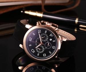 2020 Nova MONTBLAN Marca Seis pontos segundos série agulha pequena corrida de alta qualidade de moda de luxo relógios dos homens do relógio da correia de Homens