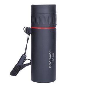 30x25 Mini Monocular Telescope, HD Compact Monocular para crianças Adultos Bird Watching Sports Viajar Camping Caminhadas Caça Pesca e Outdo