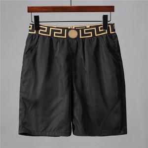 Traje de baño Verano 2020 pantalones de la playa para hombre de los cortocircuitos del tablero de los hombres Negro de lujo de diseño de la resaca cortocircuitos los troncos de nadada del deporte cortos