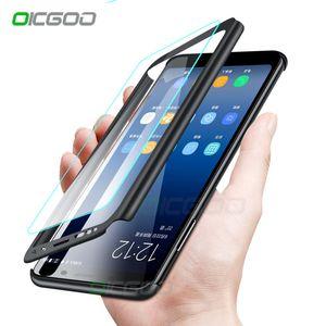 Luxus 360 telefon case für samsung galaxy s8 s9 s10 plus s10e volle abdeckung fällen für samsung note 8 9 s10 lite case