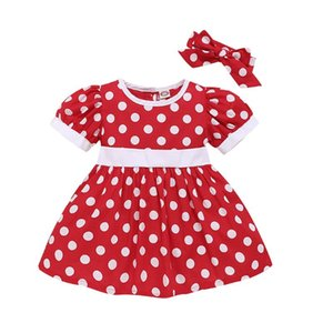Baby Girls Dress Kid Mini Mouse Costume Toddler Children Party Birthday Baby Girls Clothes Princess Summer Dresses