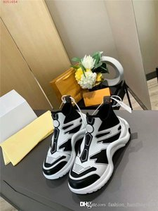 2020 cuir printemps Sneakers, Calfskin Cruise Formateurs Sport Sneaker 20P Neon Chaussures montantes Runner Jeu complet de boîte à chaussures